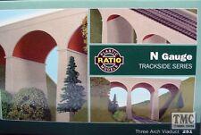 251 Ratio Three Arch Viaduct N Gauge Plastic Kit