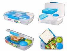 Grandi 1.76 L in plastica Bento porta pranzo per andare con frutta/yogurt Pot-Contenitore per Cibo
