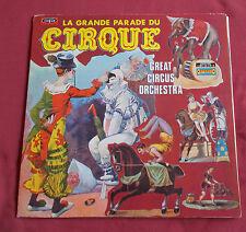 GREAT CIRCUS ORCHESTRA LP LA GRANDE PARADE DU CIRQUE  VOGUE