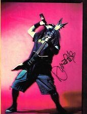 DIMEBAG DARRELL~Signed~Guitar World 8x10~PANTERA~May 2000~Vinnie Paul