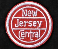 Vintage Railroad Sew On Patch New Jersey Central Railroad NJ Railroadiana
