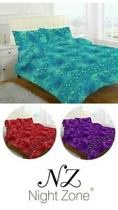 Jasmine Duvet cover set with pillow case bedding size
