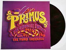 LES CLAYPOOL SIGNED PRIMUS & CHOCOLATE FACTORY BROWN VINYL RECORD ALBUM JSA