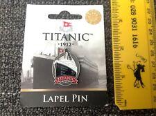 TITANIC 1912 Enamel Pin Lapel Badge Never Used Belfast Northern Ireland Souvenir
