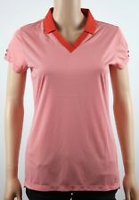 Tommy Hilfiger Golf Fiery Red Polo Shirt - M