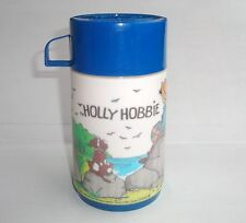 Thermos ancien Holly Hobbie époque Anneliese Mansell Sarah Kay vintage lunch box