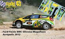 RICCIO Rally MONZA 2015 DECAL  1//43 FORD FIESTA R5