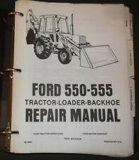 Ford Digger Retroexcavadora 550 /& 555 taller Manual de servicio
