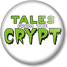 TALES FROM THE CRYPT Logo 25mm Pin Button Badge Comic Books TV Show Cryptkeeper