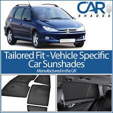 Peugeot 206 Estate 98-06 CAR WINDOW SUN SHADE BABY SEAT CHILD BOOSTER BLIND UV