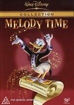 Melody Time * NEW DVD * Donald Duck (Region 4 Australia)