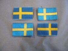 Schweden Armabzeichen Schweden Nationalflagge 4 Stück Fahne Flagge National