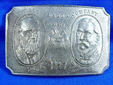 Vintage Wells Fargo Founders 1852-1902 Belt Buckle