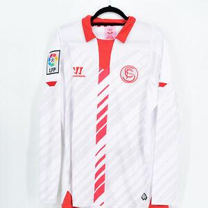 2013-14 Sevilla FC Player Issue Home Shirt L/S *BNWT* XL Warrior Jersey