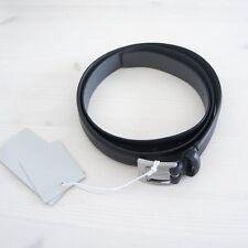 64ed76c6db7d Hof115  COS Ceinture en cuir véritable noir Slim Genuine Leather Belt Black  L