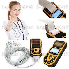 ECG80A Handheld Portable ECG machine Digital One Channel 12-lead EKG+PC Software