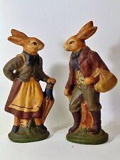 Walnut Ridge Primatives 1991 Pair of Rabbits