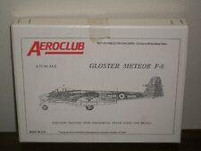 Aeroclub 1/72 Scale Gloster Meteor F-8