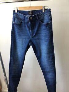 GYM KING LADIES 12 Waist Stretch Skinny Jeans New Season £20