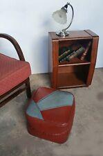 Art Deco Pouffe Footstool