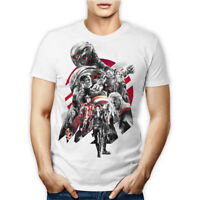 T-SHIRT MAGLIETTA TSHIRT MARVEL THE AVENGERS AGE OF ULTRON HEROES UOMO DONNA