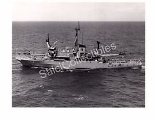 WWII US Navy Ship Photograph USS Brunswick ATS-3 Original Photo 8x10