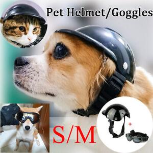 Dog Adjustable Sunglasses Motorcycle Helmet Goggles Pet UV Pet Glasses Eyewear