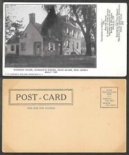 Old New Jersey Postcard - Hancock House near Salem