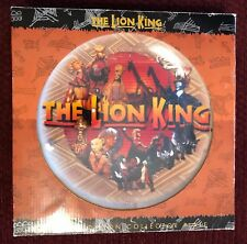 Lion King Broadway Plate in Original Box - Extremely Rare - Limited Edition