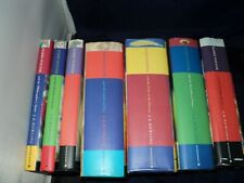 Harry Potter Complete Set Of 7 Hardback Bloomsbury Edition Books with Dust Cover