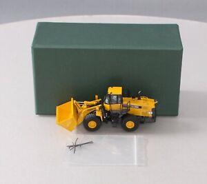 Classic Mint 14045 BRASS HO Scale (1/87) Komatsu WA-500-6 Wheel Loader EX/Box