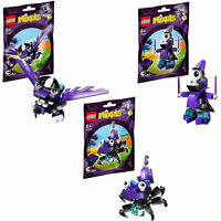 41524 41525 41526 MESMO WIZWUZ MAGNIFO mixels series 3 lego NEW wiztastics max
