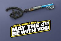 Star Wars May The 4th Be With You Lightsaber Disney Key *SHIPS SAME DAY