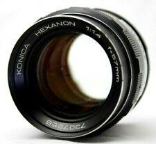 Konica Hexanon 1:1.4 57mm Lens *Problem* #AB02d