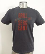 Life is good grill sergeant men's t-shirt charcoal S