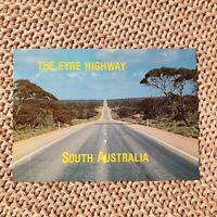 The Eyre Highway, South Australia - Vintage Postcard
