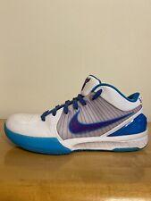 Nike Zoom Kobe 4 IV Protro Draft Day Purple Charlotte Hornets Sz 9.5 AV6339 100