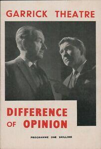 Garrick  Difference Of Opinion Gillian Lewis Robert Beatty Sarah Long c6.3028