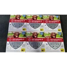 Bayer K9 Advantix Ii Extra Large Dog Flea Prevention 55+lb Lot of 6 Boxes 2-Dose