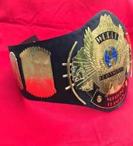 WWF WINGED EAGLE CHAMPIONSHIP REPLICA BELT 2MM BRASS ADULT SIZE