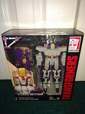 Astrotrain Darkmoon Transformers Titans Return TR Voyager Hasbro 2015 MISP! NEW