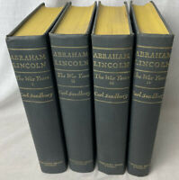 Abraham Lincoln : The War Years - 4 Volume Set - Carl Sandburg 1939 Harcourt