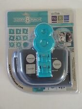 We R Mememory Keepers Lucky 8 Retro Scallop Die-cast Punch NISP