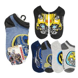 New 5 Pack Transformers Socks SIZE L 3-9