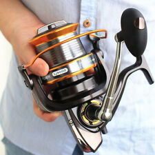 9000 Series Spinning Fishing Reel Full Metal Big Sea Casting Saltwater Surf
