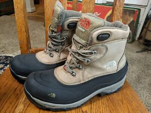 The North Face Snow Boots Size 10  Waterproof Primaloft 200 Gram Insulation