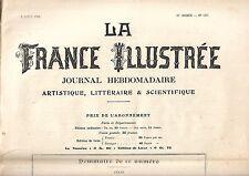 La France Illustrée Journal semanal 30e año Nº 1497 REF E5