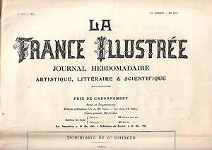 La Francia Illustrato Giornale Settimanale 30e Anno N° 1497 Rif. E5