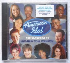 American Idol Season 3: Greatest Soul Classics by Various Artists CD SEE COMMENT