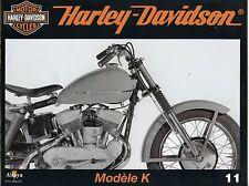 MOTOR CYCLES / UN SIECLE DE HARLEY DAVIDSON / ANNEE 2012 / N° 11 MODELE K